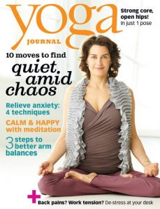 Yoga Journal November 2011 cover page