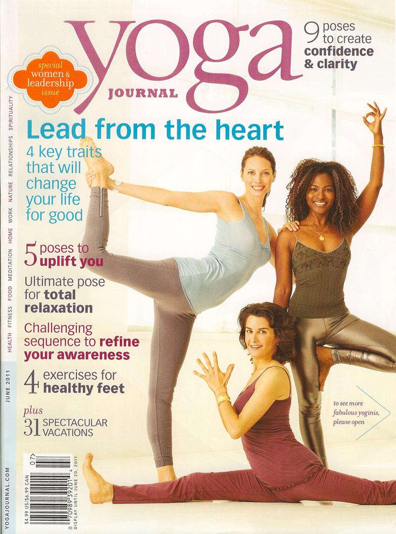 Yoga Journal June 2011 cover