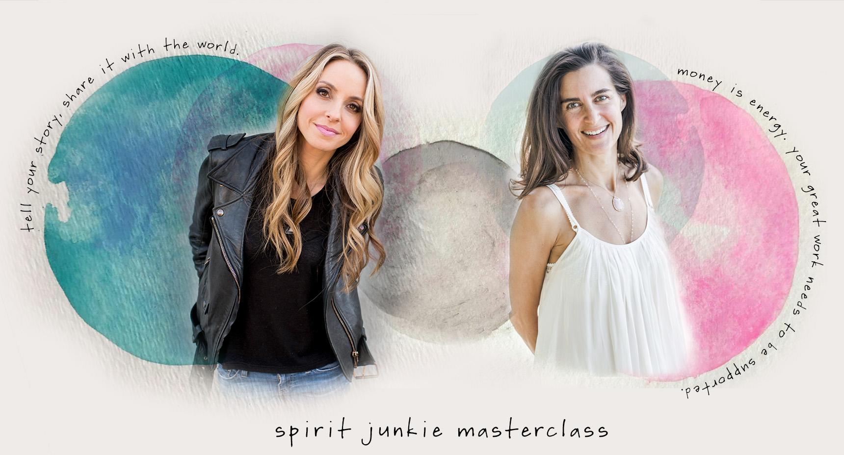 spirit junkie masterclass elena brower gabrielle bernstein